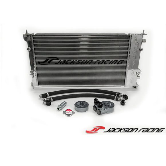 Jackson Racing BRZ/FR-S Dual Radiator/Oil Cooler
