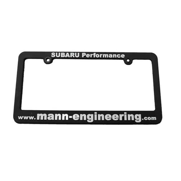 Mann Engineering License Plate Frames