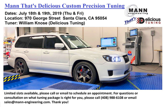 MANN That's Delicious 2019 2nd Custom Precision Tuning