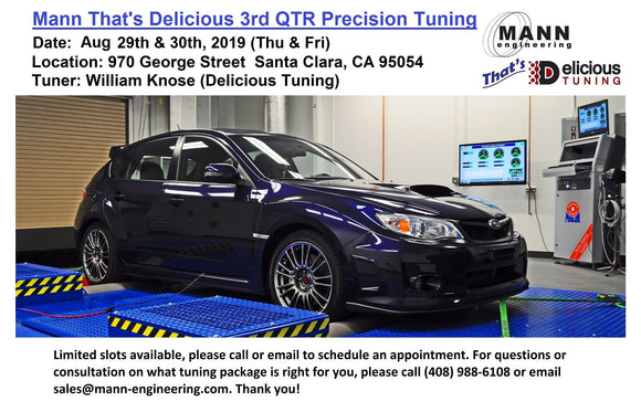 MANN That's Delicious 2019 3rd QTR Custom Precision Tuning