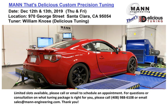 MANN That's Delicious 2019 4th QTR Custom Precision Tuning  (SOLD OUT!)