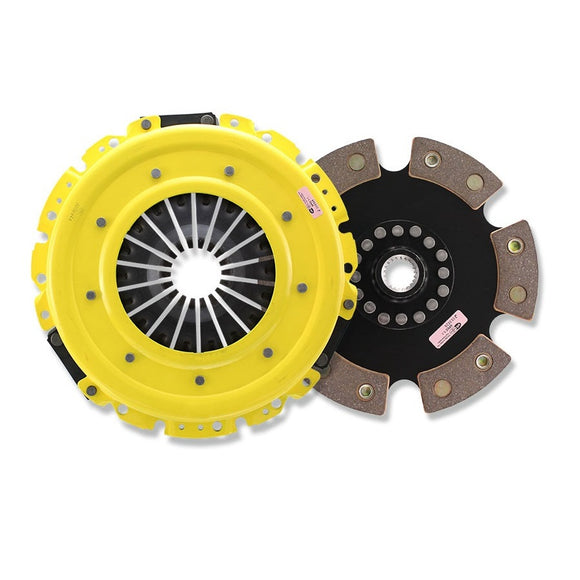 ACT Heavy Duty Monoloc Race Rigid 6 Pad Disc Clutch Kit