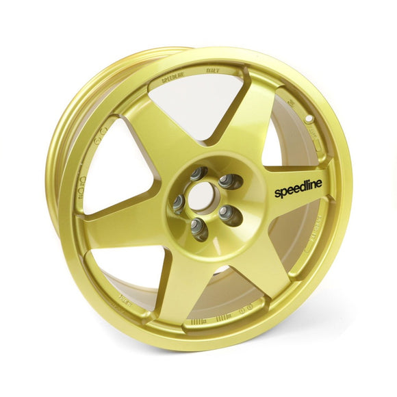 Speedline Type 2013C, 18x8, 5x100, ET11.6, Gold, Group-A / WRC, MOTORSPORT