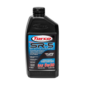 TORCO SR-5 GDL Synthetic Racing Oil, 5w30