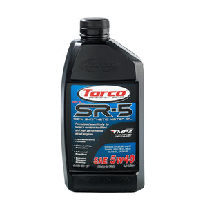 TORCO SR-5 GDL Synthetic Racing Oil, 5w40