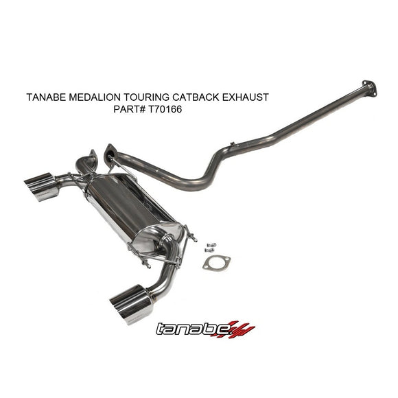 Tanabe Medalion Touring Catback Exhaust