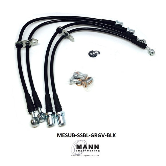 Mann Engineering Stainless Steel Brake Line Kit