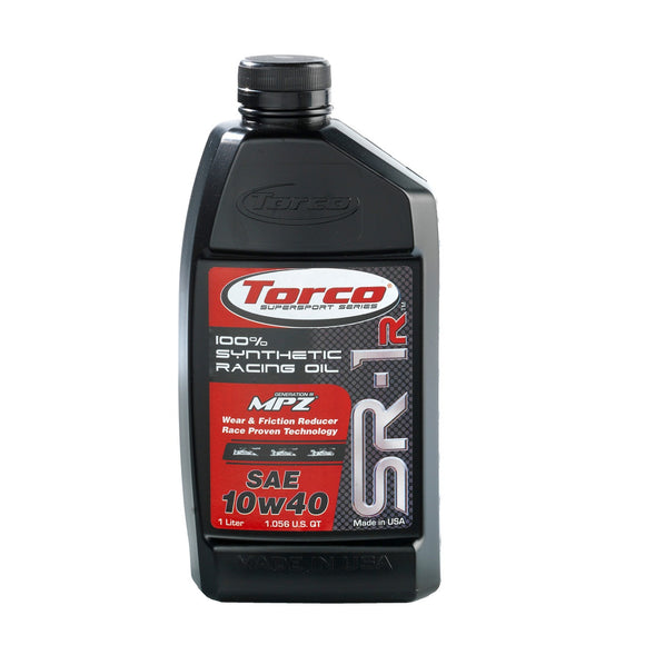 TORCO SR-1R Synthetic Racing Oil, 10w40