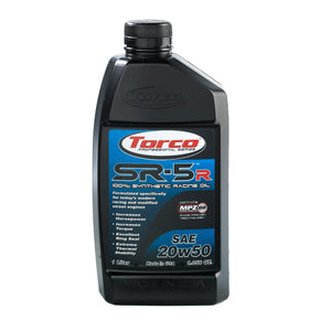 TORCO SR-5R Synthetic Racing Oil, 20w50
