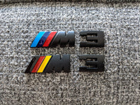 Black BMW E9x M3 Trunk Badge
