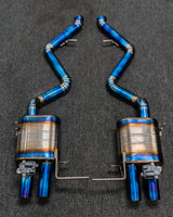 Bomiz Full Titanium Valvetronic Exhaust for BMW E9x M3 - Bomiz