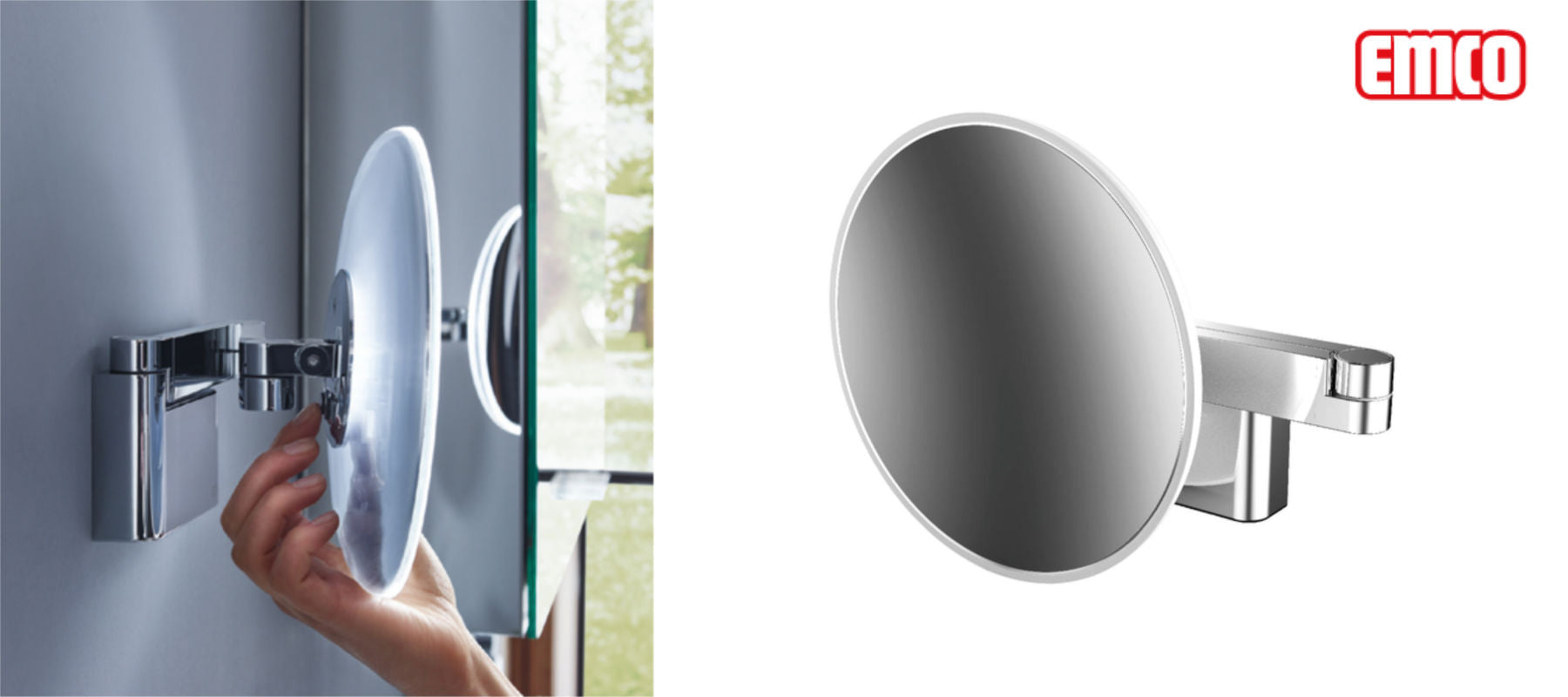 EMCO Light-System Magnifying Mirrors