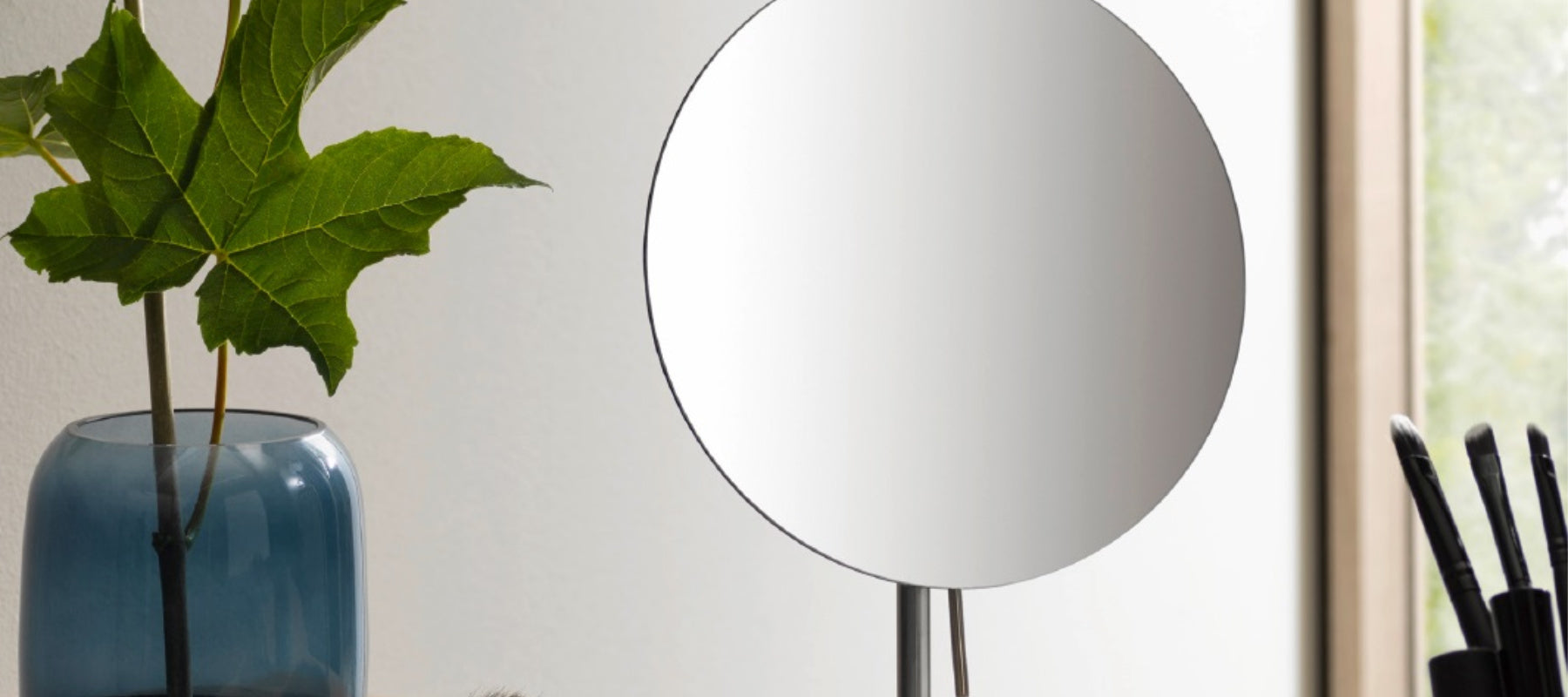 Frasco Stainless Steel Tabletop Mirrors