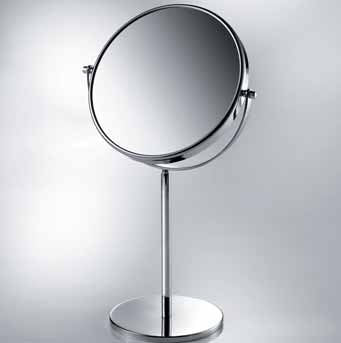 Lineabeta Classic Tabletop Mirror, 3x Magnification, Ø 190mm - The Magnifying Mirror Store