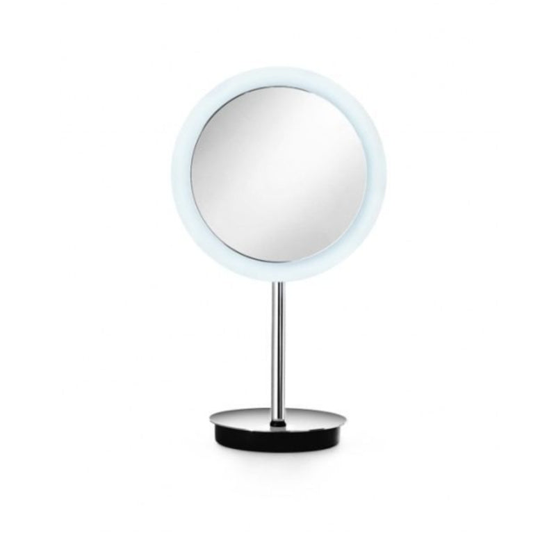 Lineabeta LED Tabletop Mirror, 3x Magnification, Round, Ø 230mm