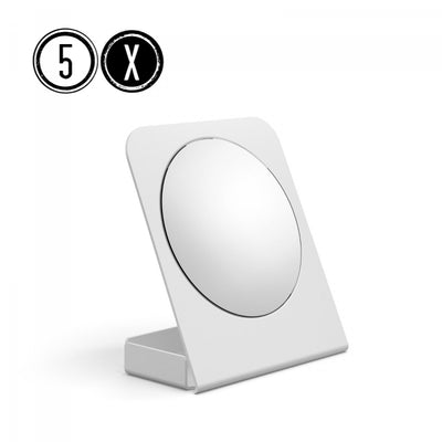 Lineabeta Container Tabletop Mirror, 5x Magnification - The Magnifying Mirror Store