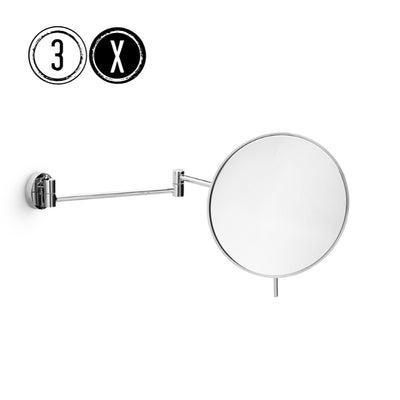 Lineabeta Extra Reach Wall Mirror 3x Magnification, Round, Ø 186mm - The Magnifying Mirror Store