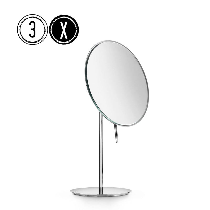 Lineabeta Tabletop Mirror, 3x Magnification, Round, Ø 186mm - The Magnifying Mirror Store