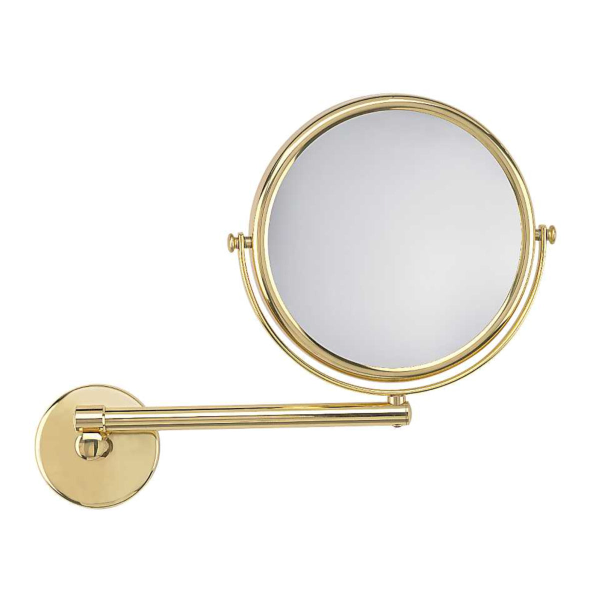 Frasco Luxury Wall Mirror, 3x, Brass Finish