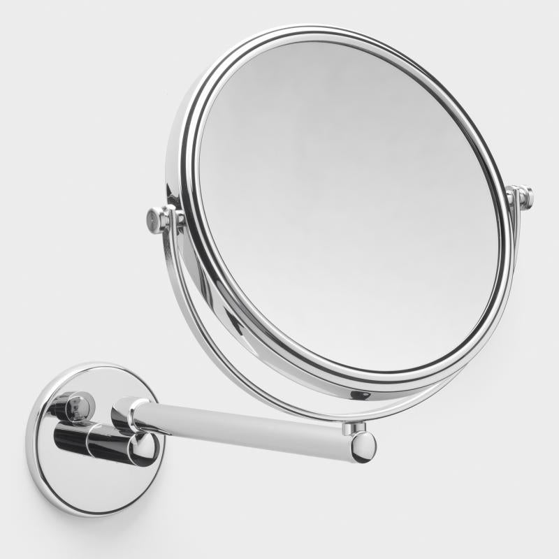 Frasco Luxury Wall Mirror, 3x Magnification, 1-arm, Ø 190mm - The Magnifying Mirror Store