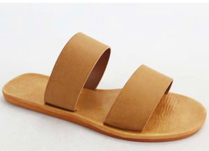Two strap sandals