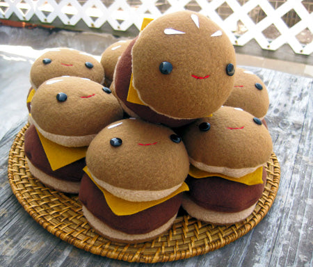 Soft Toy Burgers