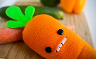 Soft Toy Carrot