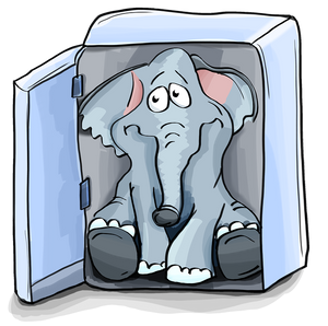 The ELEPHANT is sitting on my chest – AGAIN!