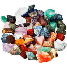 1 lb (460g) Mixed-Raw Tumbling Crystal/Stones for Healing/Reiki/Energy