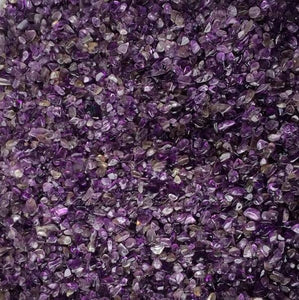 100g (1/4lb) Amethyst Point Crystal Stone Chips