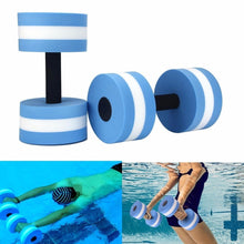 Swimming Accessories Water Aerobics Dumbbell EVA Aquatic Barbell Fitness Pool Swim Floating Exercise Training Fitness Equipment