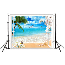 Summer Seascape Beach Dreamlike 3X5 FT Photography Background Screen