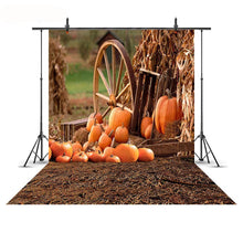 Autumn Rural Farm Haystack Photography Backdrops