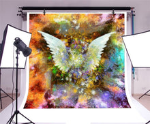 Angel Wings Gradient Color Photography Background