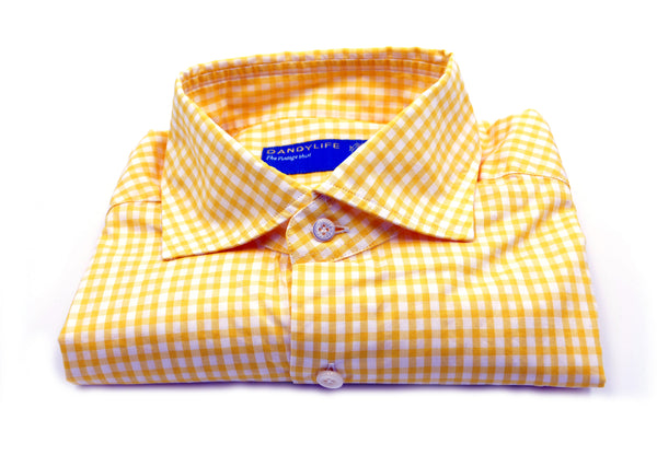 Shirt LIU13R4263 White-Yellow Beard napoli - mario gualano