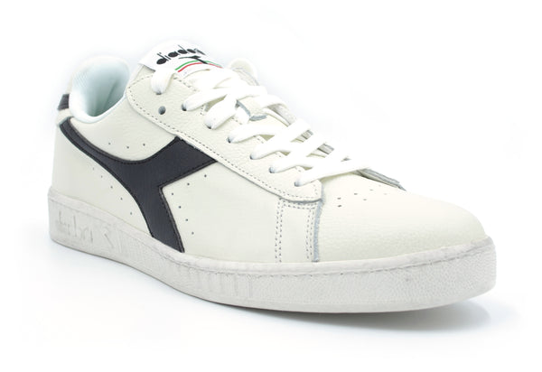 Game L Low Waxed Bianco/Nero Diadora - mario gualano