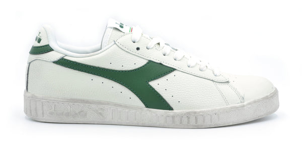 Game L Low Waxed Bianco/Verde Diadora - mario gualano
