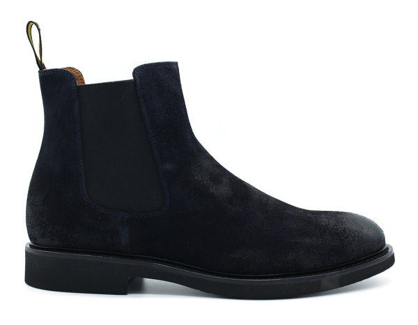 1343GENOUF BLU Doucal's Ankle Boot - mario gualano