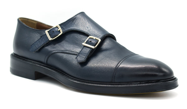 Shoe 65001 FRANZ navy Doucal' s - mario gualano