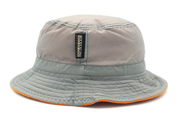 Cappello CLOCHE DOUBLE MACE grey orange Napapijri-mario gualano