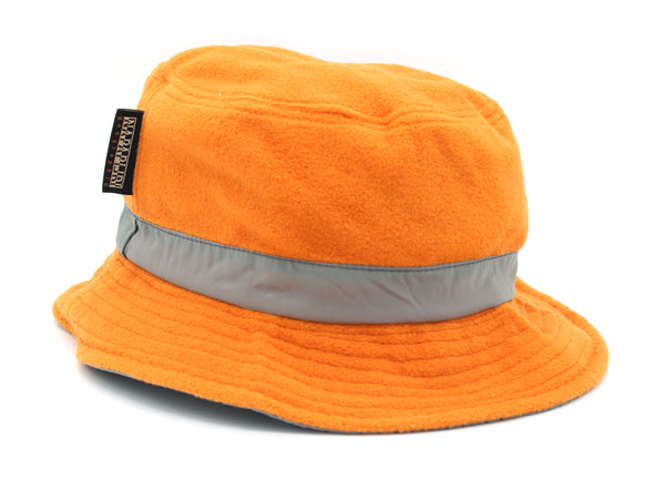 CLOCAL Hat DOUBLE Orange Grey FACE Napapijri - mario gualano