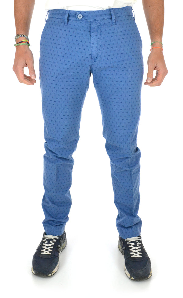 Printed trousers 16G01 206 Perfection - mario gualano