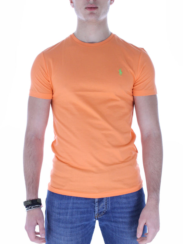T-Shirt Custom Slim fit 710671438 arancio