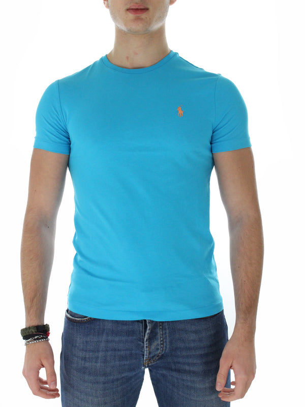 T-Shirt Custom Slim fit 710671438 turchese