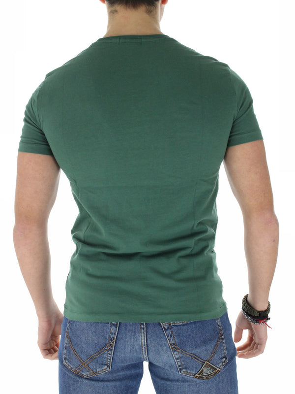 T-Shirt custom slim Orsetto 71083576100 verde