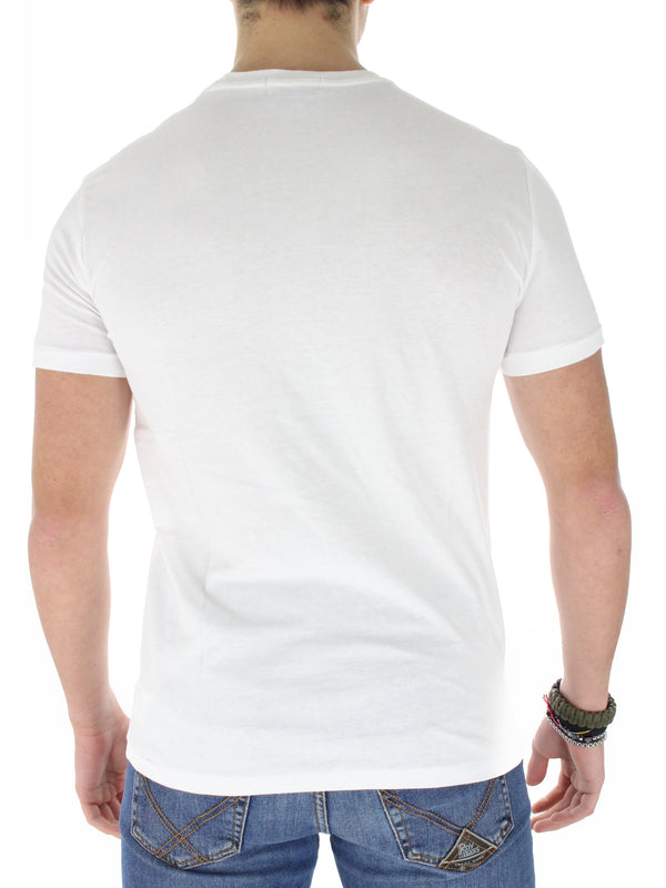 T-Shirt Orsetto custom slim fit 7108373060 bianco
