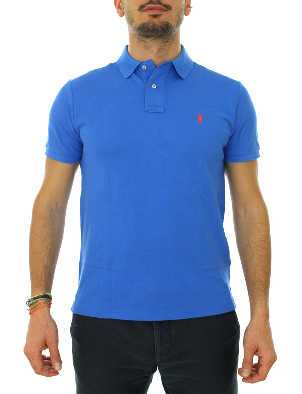 Custom polo 710680784 light blue