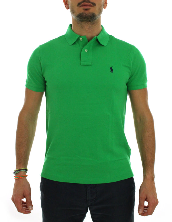 Custom polo 710680784 green