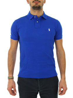 Polo slim 710 536856 royal Polo Ralph Lauren - mario gualano