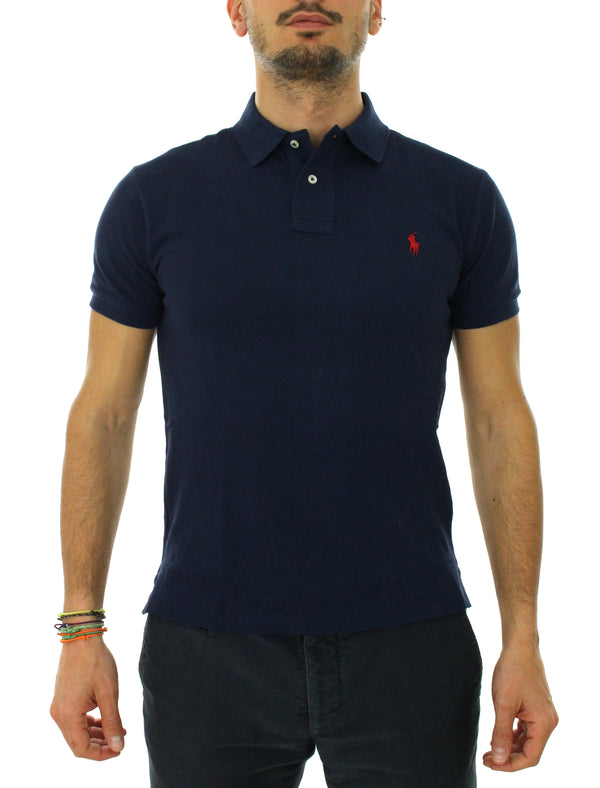 Slim polo 710 795080007 blue